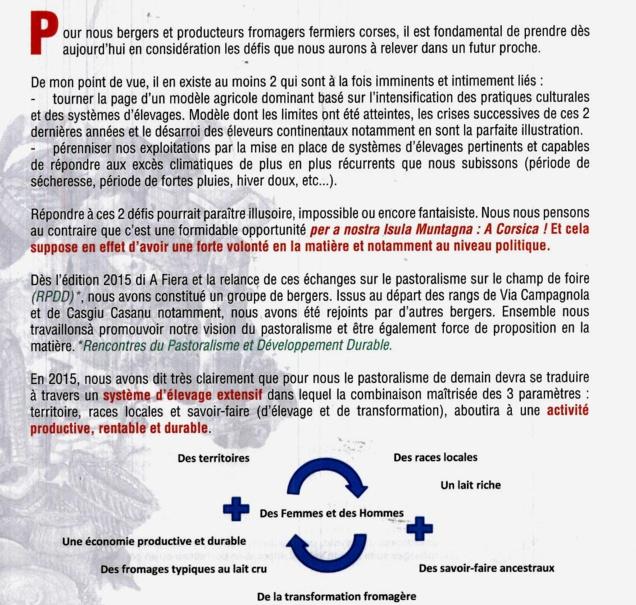 Pastoralisme et développement durable : Isula è Muntagna di Pastori